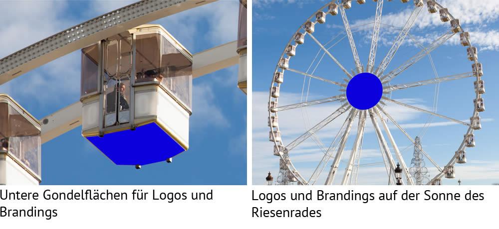 Riesenrad Branding