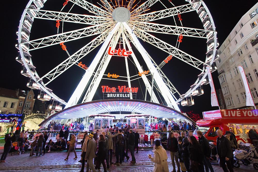 The View | Brüssel Weihnachtsmarkt