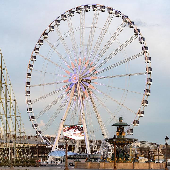 Giant Wheel / Ferris Wheel Roue de Paris