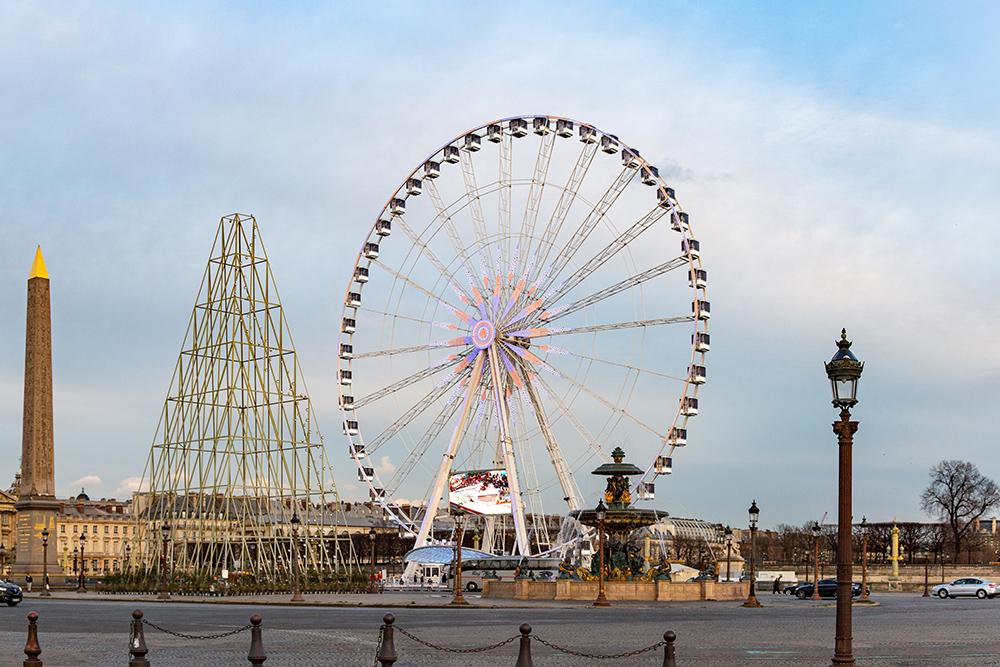 Riesenrad Roue de Paris